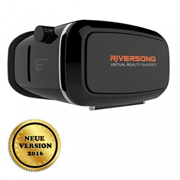 riversong neue 3d virtual reality brille f r smartphones vr brillen test 2016. Black Bedroom Furniture Sets. Home Design Ideas